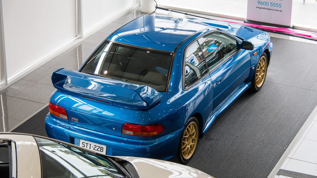 The Subaru Impreza 22B Was An Insane Monster That Could Never Happen Today
