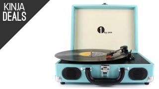 If You're One of Those Vinyl Record People, Here's a Nice Turntable Deal