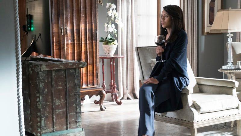 Kerry Washington prepares to say goodbye to Scandal