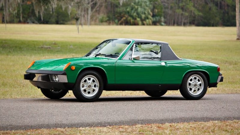 this four cylinder porsche 914 just sold for 93 000. Black Bedroom Furniture Sets. Home Design Ideas