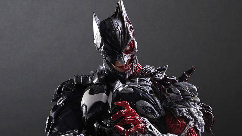 Illustration for article titled This Batman Figure Is Wonderfully Gross
