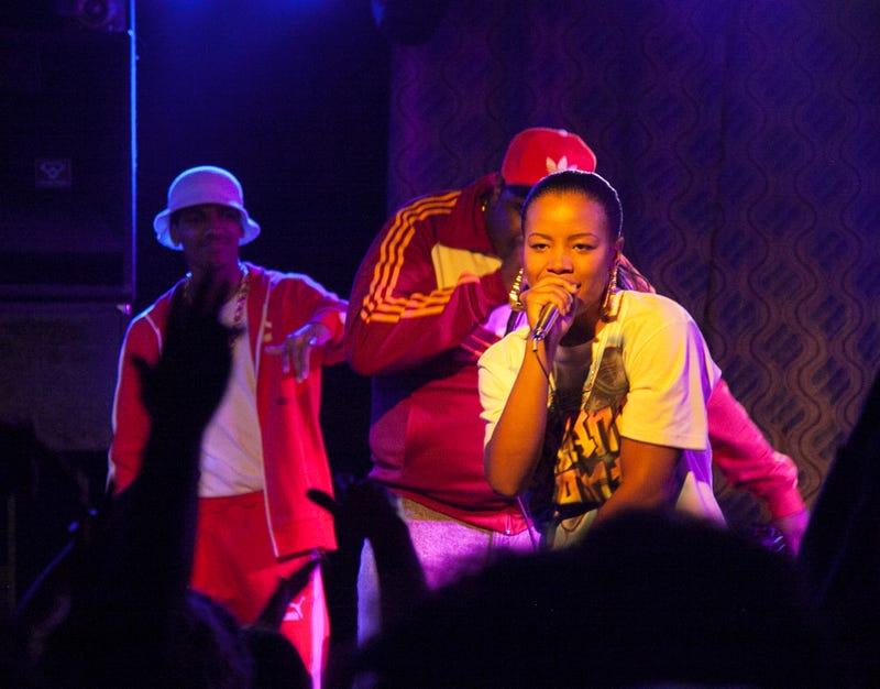 Illustration for article titled Chanté toShanté: Chanté Adams Channels Hip-Hop Pioneer Roxanne Shanté in Netflix's Roxanne, Roxanne