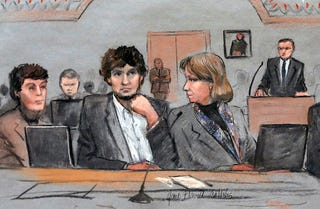 Illustration for article titled Dzhokhar Tsarnaev Is Bad, And What He Did Was Bad