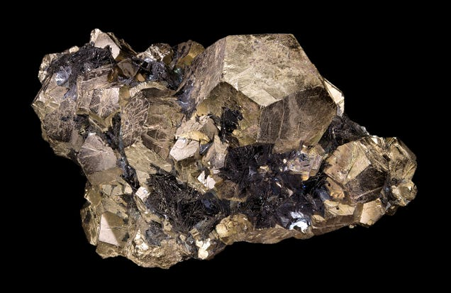 Fool s Gold Is Hiding  Invisible  Real Gold, Scientists Find