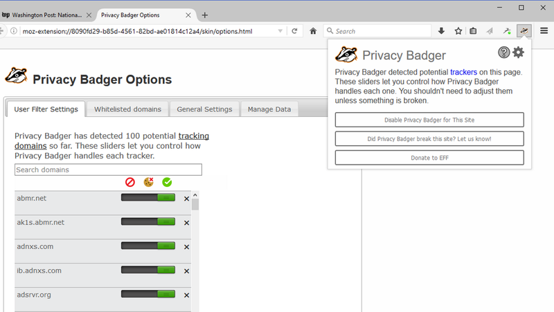 Illustration for article titled Privacy Badger 2.0 Is a Privacy Protection Powerhouse for the Web