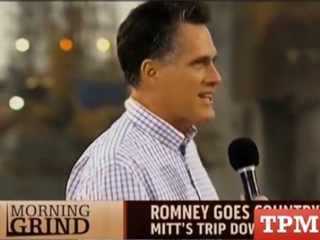 GOP presidential candidate Mitt Romney (Talking Points Memo)