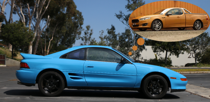 Illustration for article titled What if there was an MR2 Ute?