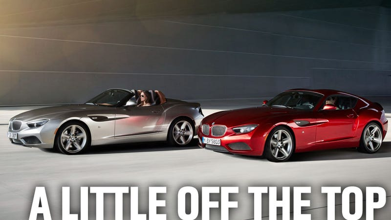 Illustration for article titled BMW Takes Six Weeks To Chop The Roof Off The Zagato Coupé