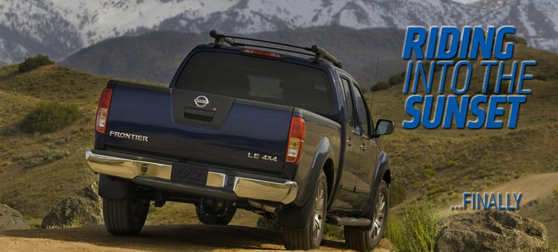 Illustration for article titled New Nissan Frontier Promised For 2015, May Arrive With An SUV Sibling