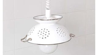 ​Create An Eye-Catching Pendant Lampshade With An Old Colander