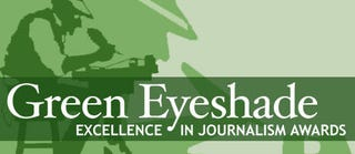 Illustration for article titled FUSION Sweeps TV Category of Green Eyeshade Awards