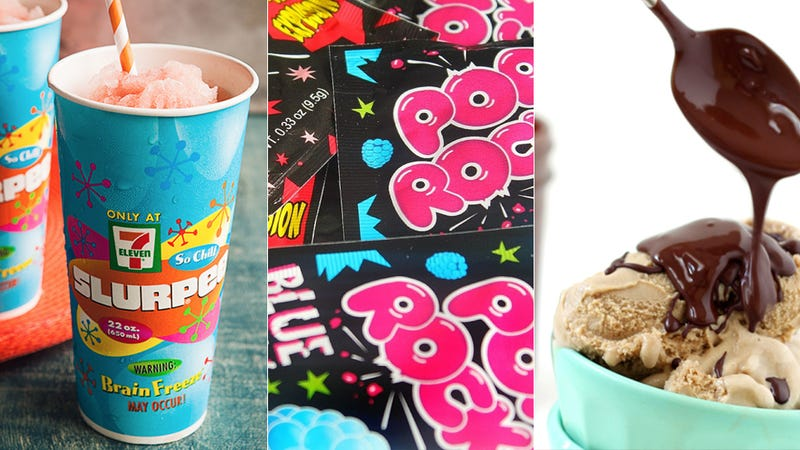 Illustration for article titled Pop Rocks to Slurpees: The Science of America's Wackiest Summer Treats