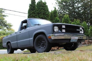 mini truck ford courier