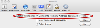 Illustration for article titled Safari AutoFill Exploit Hands Out All Your Contact Info by Default