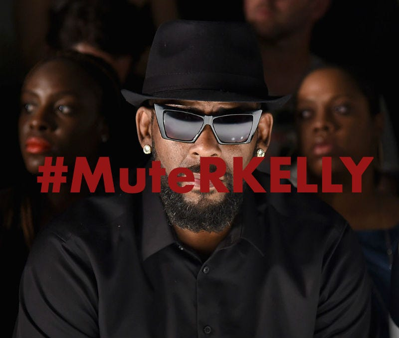Women of Color Within Time\'s Up Join #MuteRKelly Protest