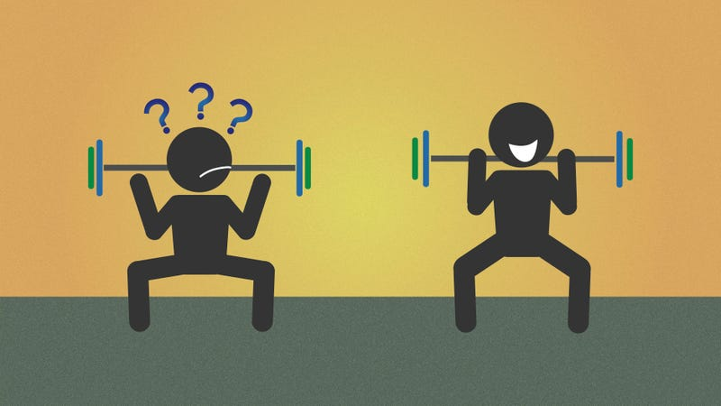 Illustration for article titled How Your Body Shape Affects Weight Lifting Form: A Physics Lesson