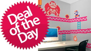 Illustration for article titled These Donkey Kong Nintendo Wall Graphics Are Your Nerdy-Office-Decals Deal of the Day