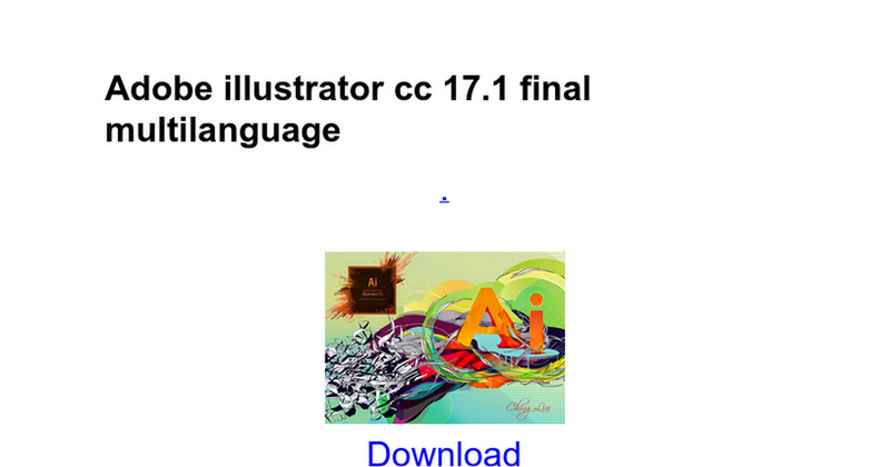 Illustration for article titled Adobe Illustrator CC 2015 19.0.0 64bit
