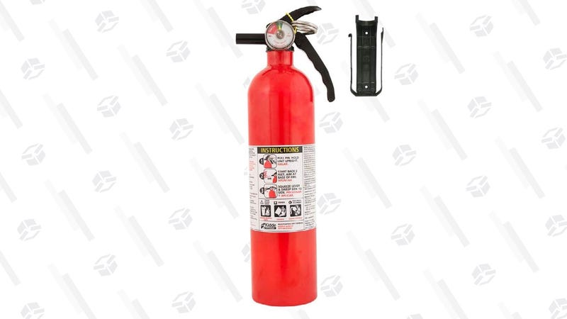 Prepare For Barbecue Mishaps With This Fire Extinguisher, Now Cheaper Than Ever