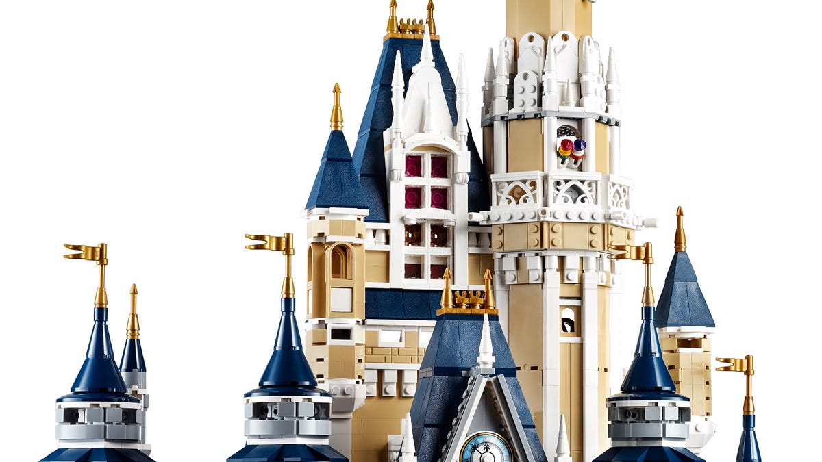 Lego's 4,000-Piece Disney Castle Is Cheaper Than Taking Your Kids to