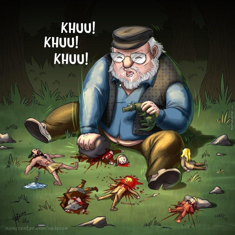 Illustration for article titled Juego de Tronos, resumido en una sola ilustración