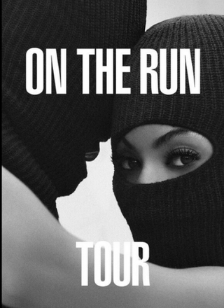 On the Run tour posterTwitter
