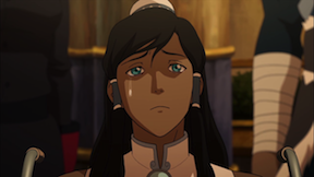 Illustration for article titled Has Korra's Life Changed Permanently? (Spoilers for Season 3)