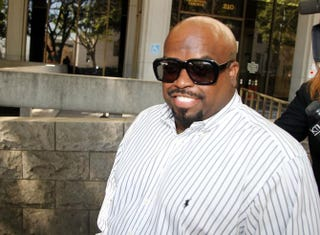 CeeLo Green at a hearing at the Los Angeles Superior Court House on Aug. 29, 2014. Green pleaded no contest to a felony charge of furnishing Ecstasy and was sentenced to three years of probation.David Buchan/Getty Images