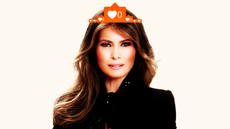 Illustration for article titled A Haunting and Depraved Tour of Melania Trump's Instagram Graphics