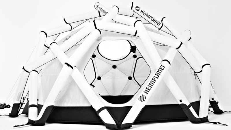 Illustration for article titled Can Inflatable Poles Make Better Tents?