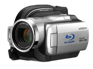 Illustration for article titled Hitachi Shrinks Blu-Ray Camcorder, Adds More Megapixels: New DZ-BD10H