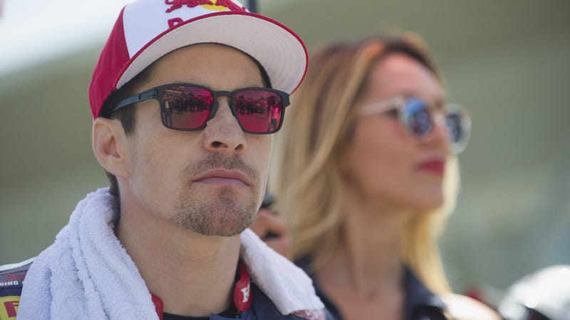 Hayden seriously injured in road accident