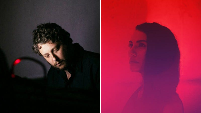 L: Oneohtrix Point Never (Photo: Felipe Gabriel); R: Frankie Rose (Photo: Erez Avissar)