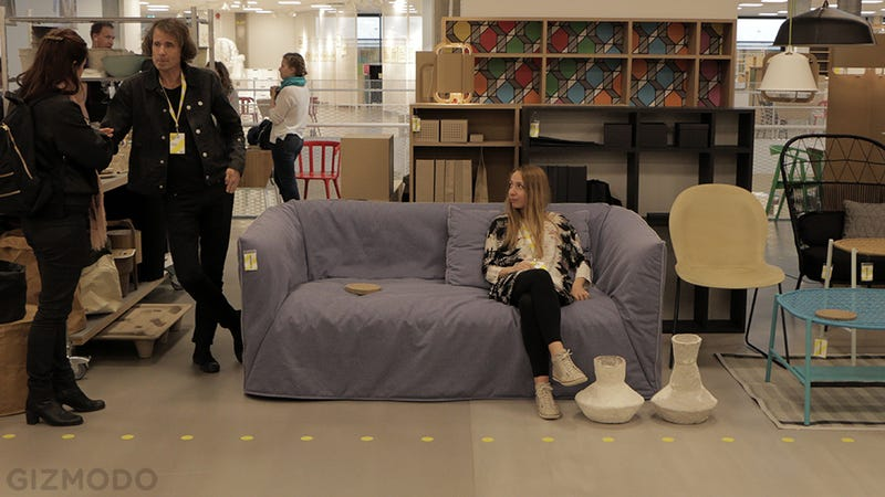 Illustration for article titled And Now IKEA Is Making Sofas Out of Paper