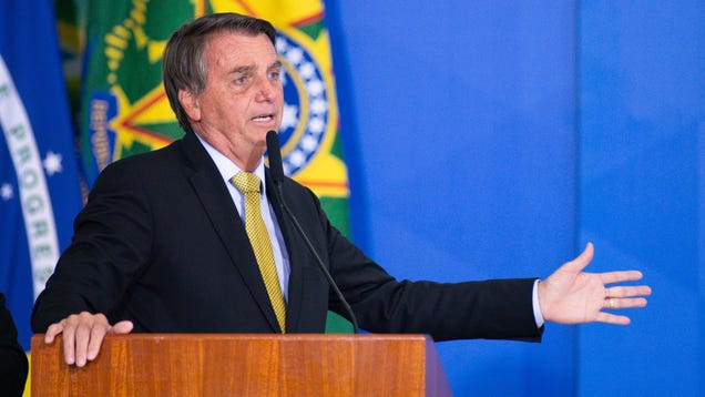 Bolsonaro Can't Stop Hiccuping
