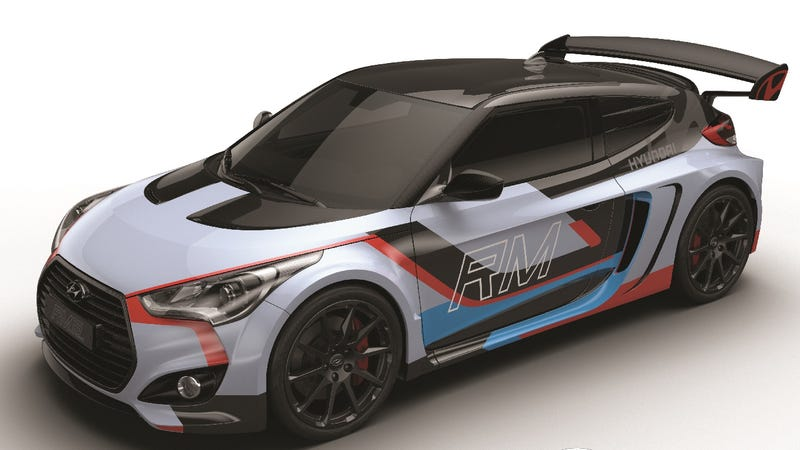 Illustration for article titled Hyundai Just Made A Mid-Engine Turbo Veloster With 300 HP