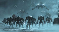 Illustration for article titled Halo Wars Playable, But Not Here