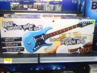 Illustration for article titled Mysterious Wireless Guitar Hero Controller For Wii Surfaces