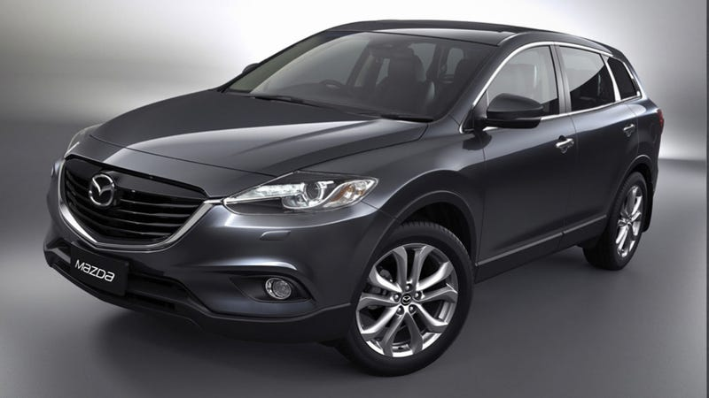 Illustration for article titled The 2014 Mazda CX-9 Looks Like A Mazda