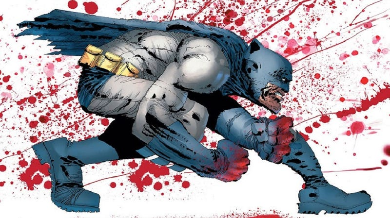 Illustration for article titled Oh God, Frank Miller Is Going to Write a Dark Knight Returns IV, Too