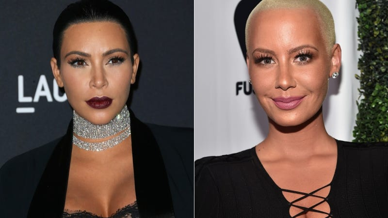 Illustration for article titled Amber Rose Is Being Accused of Copying Kim Kardashian's Emojis