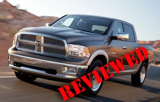 Illustration for article titled 2009 Dodge Ram, Reviewed