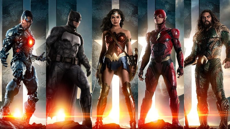 Illustration for article titled Justice League Trailer Unites the Team, and World