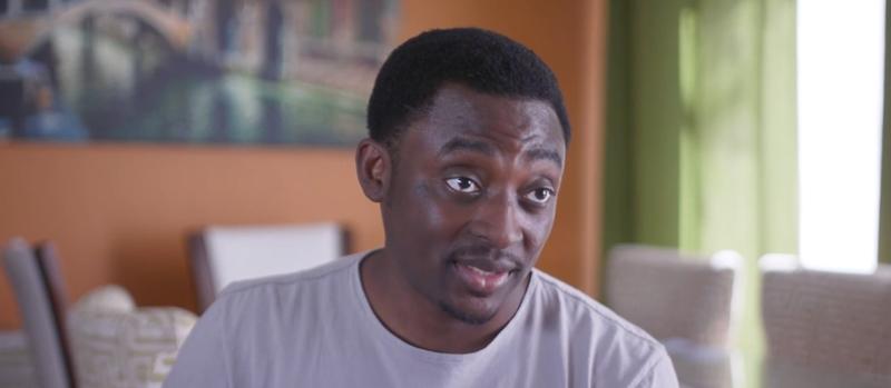 Actor Bambadjan Bamba tells his story to the immigrant advocacy organization Define American (Define American screenshot)
