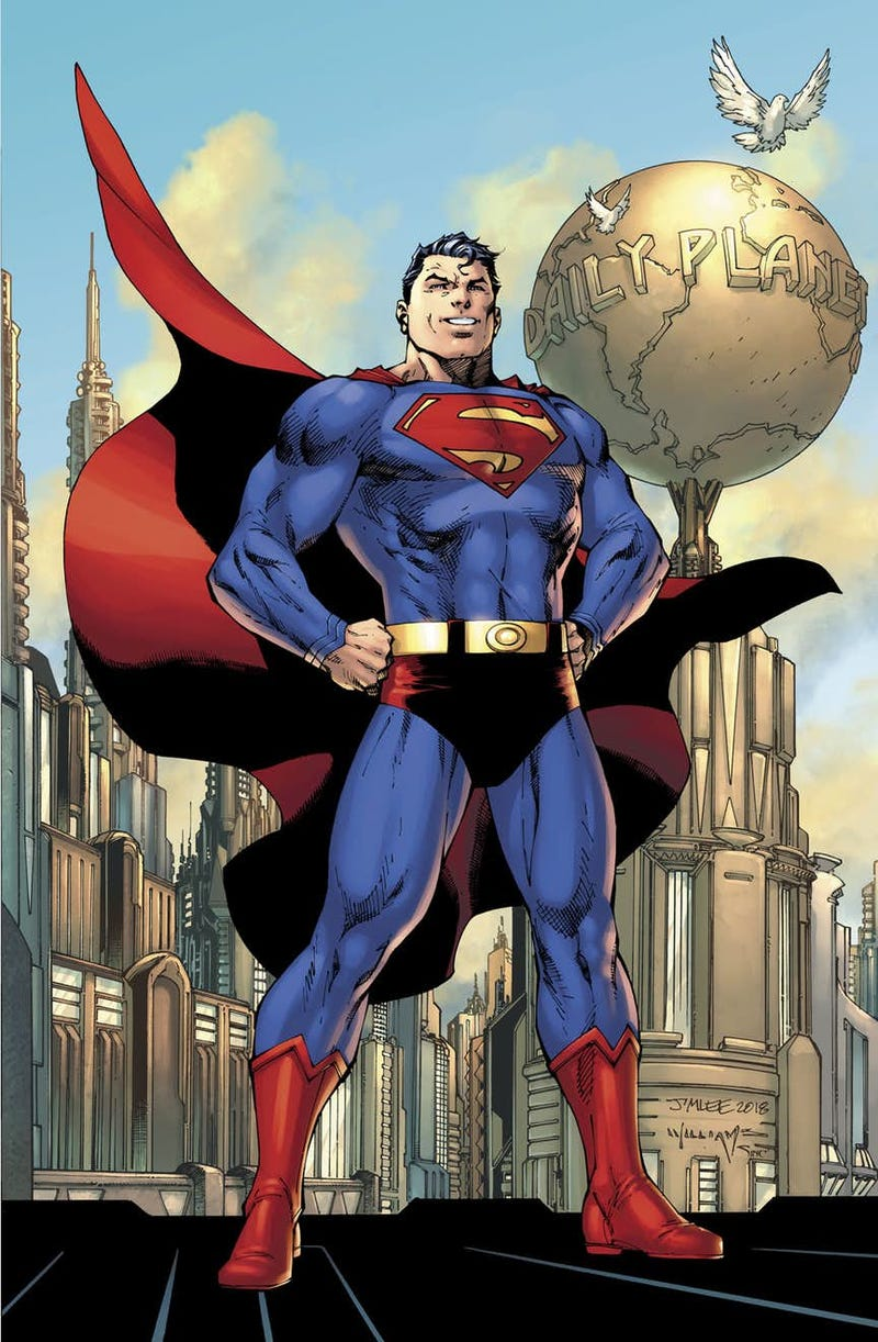 superman s red trunks return in action comics 1000