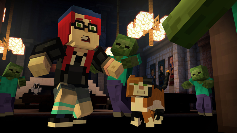 """If you want an idea of how """"Minecraft but with a story"""" could work, Telltale's Minecraft: Story Mode series did a pretty decent job."""