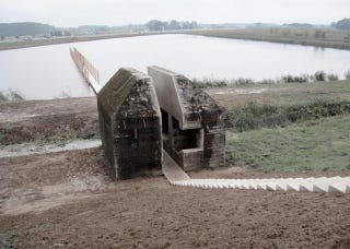 Illustration for article titled This Dutch Bunker Survived Various Wars, But Not a Team of Architects
