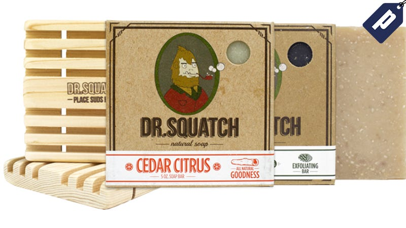 Illustration for article titled Save 25% On The Dr. SquatchNatural Soap 4-Pack ($27)
