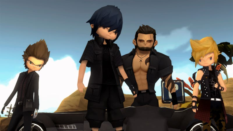 Final Fantasy XV Pocket Edition Keeps Things Nice And Simple