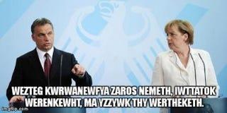 Illustration for article titled Megvan, mit mondott Orbán Merkelnek